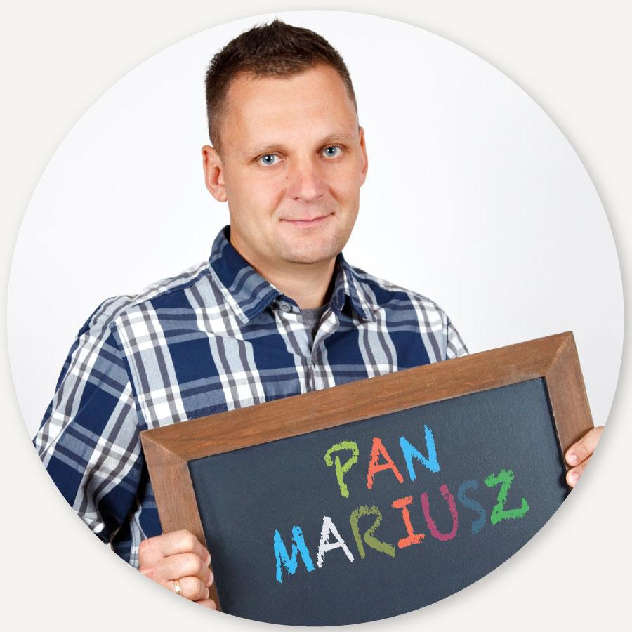 Pan Mariusz Lupa